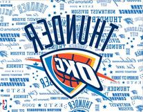 NBA Oklahoma City Thunder New iPad Skin - Oklahoma City