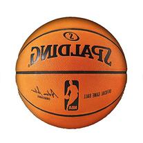Spalding NBA Leather Game Ball Official