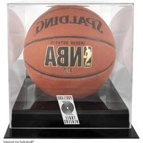 NBA Logo Basketball Display Case NBA Team: Portland