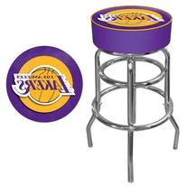 NBA Los Angeles Lakers Padded Swivel Bar Stool