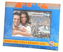 """NBA Oklahoma City Thunder Padded Front 4"""" x 6"""" Picture Frame"""