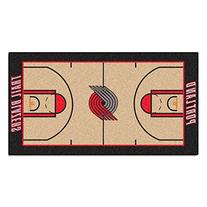 FANMATS NBA Portland Trail Blazers Nylon Face NBA Court