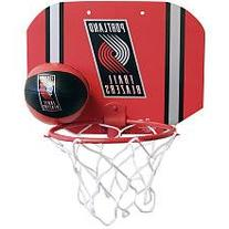 NBA Portland Trailblazers Slam Dunk Softee Hoop Set