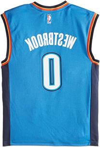 NBA Oklahoma City Thunder Russell Westbrook #0 Men's Replica