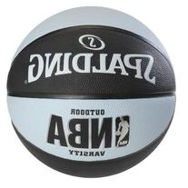 Spalding NBA Varsity Outdoor Rubber Basketball - Black/Blue