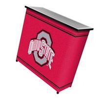 NCAA 2 Shelf Portable Bar with Case - NCAA Team: Ohio State