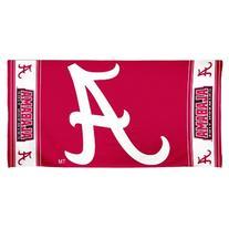 NCAA Alabama Crimson Tide 30 by 60 Fiber Reactive Beach
