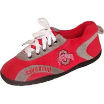 Comfy Feet NCAA All Around Slippers - Ohio State Buckeyes