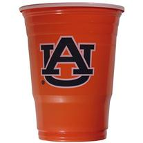 NCAA Auburn Tigers Game Day Cups, 18-Ounce, Sleeve of 18
