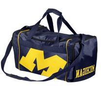 Forever Collectibles NCAA Michigan Wolverines Core Duffle