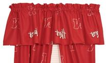 College Covers Nebraska Cornhuskers Printed Curtain Valance