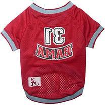 NCAA Alabama Crimson Tide Dog Jersey Large