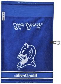 Duke Blue Devils Face/Club Jacquard Towel
