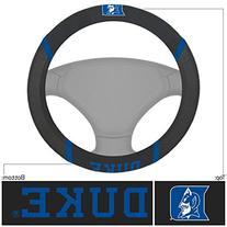 FANMATS NCAA Duke University Blue Devils Polyester Steering