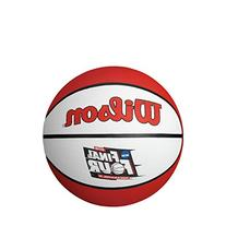 Wilson NCAA Final Four Mini Rubber Basketball