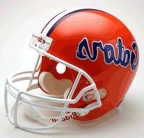 NCAA Florida Gators Deluxe Replica Football Helmet