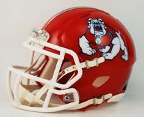 NCAA Fresno State Bulldogs Speed Mini Helmet