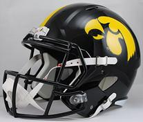 NCAA Iowa Hawkeyes Full Size Speed Replica Helmet, Yellow,