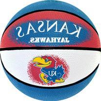 NCAA Kansas Jayhawks Mini Basketball, 7-Inches