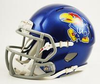 NCAA Kansas Jayhawks Speed Mini Helmet