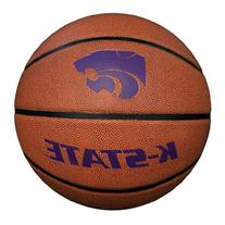 NCAA Kansas State Wildcats Composite Basketball, Orange,