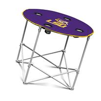 LSU Fighting Tigers Collapsible Round Table with 4 Cup