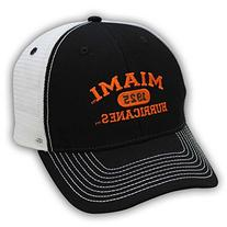 NCAA Miami Hurricanes Adjustable Sideline Cap, Dark Hunter/