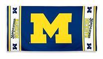 NCAA University of Michigan A1861515 Fiber Beach Towel, 9 lb
