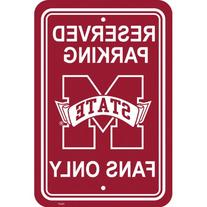 NCAA Mississippi State Bulldogs Parking Sign