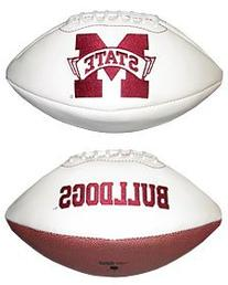 NCAA Mississippi State Bulldogs Signature Full Size Football