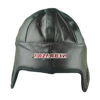 NCAA Nebraska Cornhuskers Faux Leather Helmet Head