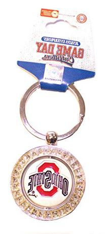NCAA Officially Licensed Spinner Key Chain Key Ring