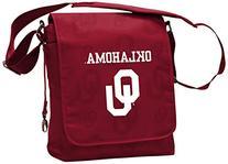 NCAA Oklahoma Sooners Messenger Diaper Bag, 13.25 x 12.25 x
