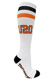 NCAA Oregon State Beavers Tube Socks, One Size, White