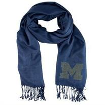 NCAA Pashmina Fan Scarf, Michigan Wolverines