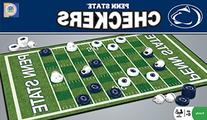 NCAA Penn State Nittany Lions Checkers, Gray, Small