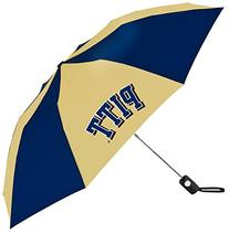 NCAA Pittsburgh Panthers Auto Folding Umbrella, Multicolor