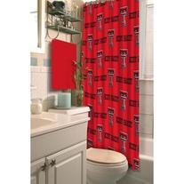 NCAA Texas Tech Red Raiders Shower Curtain