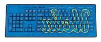 NCAA UCLA Bruins Wireless USB Keyboard