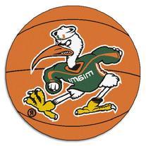 FANMATS NCAA University of Miami Hurricanes Nylon Face