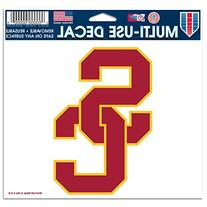 "NCAA USC Multi-Use Colored Decal, 5"" x 6"