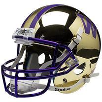 NCAA Washington Huskies Gold Chrome Mini Helmet, One Size,
