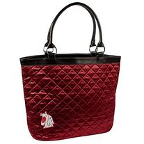 NCAA Washington State Cougars Quilted Tote, Maroon