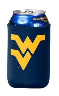 NCAA West Virginia Mountaineers Flat Drink Coozie