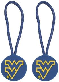NCAA West Virginia Mountaineers ID/Zipper Pull
