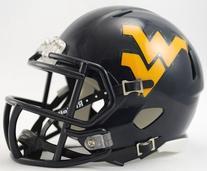 NCAA West Virginia Mountaineers Speed Mini Helmet