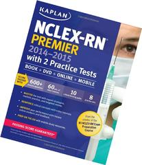 NCLEX-RN Premier 2014-2015 with 2 Practice Tests