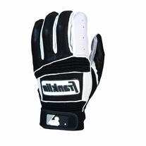 Franklin Neo Classic II Batting Gloves - Medium - Gray/Royal