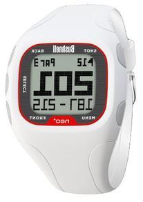 Bushnell NEO+ Golf GPS Rangefinder Watch, White