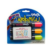 EXPO Neon Dry Erase Markers, Bullet Tip, 3-Pack, Assorted Colors